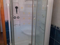 Cabina de duș Pisa cu hidromasaj și saună