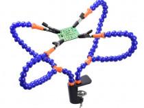 Suport electronist cu 4 brate ajutor lipit letcon statie