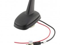 Antena SHARK, radio AM/FM, cu amplificare semnal, 12V-001130