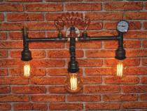 Lampa aplica steampunkdesigncj,lampa steampunk,corp iluminat
