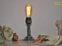 Lampa mica steampunkdesign, lampa steampunk, corp iluminat