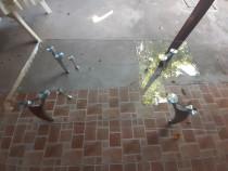 Masuta sticla 120x65 cm. pentru sufragerie