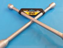 Cheie tubulara in cruce, prezoane 17mm, 19mm, 21mm , 23mm