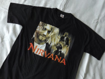 Nirvana Kurt Cobain tricou 100% bumbac