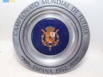 Placa Campeonato mundial de Futbol Espana 1982
