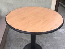 Masa rotunda ( cu picior central metalic )