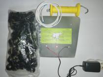 Generator impulsuri6 joule+50 izolatori +maner de poarta