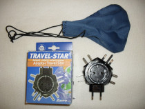 TRAVEL-STAR, Germania, adaptor 5 prize calatorii, nou, cutie