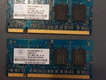 Memorii ram laptop 2x 512mb - total 1gb