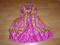Costum carnaval serbare printesa aurora 4-5-6 ani