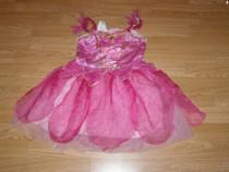 Costum carnaval serbare zana rosetta clopotica 4-5-6 ani