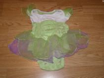 Costum carnaval serbare zana clopotica tinkerbell 1-2 ani