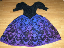 Rcostum carnaval serbare rochie printesa medievala