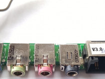 Conector audio modem laptop Hyrican Clevo 6-71-M67U8-D03