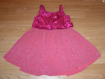 Costum carnaval serbare rochie dans gala 6-7 ani
