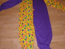 Costum carnaval serbare clovn claun pentru adulti marime XL
