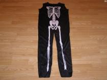 Costum carnaval serbare schelet 9-10 ani