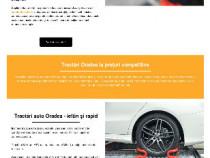 Site tractări auto Oradea