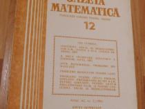 Gazeta matematica - Nr. 12 din 1985