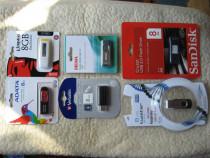 USB CARD 8GB, noi, sigilate, 6 modele, schimb cu diverse
