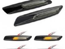 Semnalizari LED laterale Bmw E60/E90/E92 Black Smoke F10 Sty