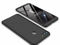 Carcasa protectie Huawei Y9 2018, 3in1, husa 360 grade full