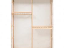 Dulap de haine cu 3 rafturi, 110 x 40 x 170 cm 247108