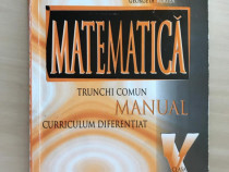Manual de matematica pentru clasa a X-a, Burtea