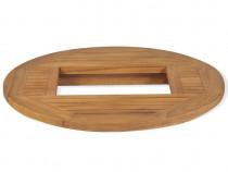 Blat de masă pentru lada de bere, lemn de tec, 43807