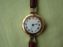 Vintage ceas ROLEX Dama Manual Fabricat 1916 - Aur Roz 9k