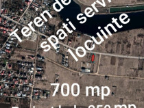 Teren 700 mp cu proiect birouri hala 250 mp Tunari Ilfov
