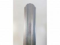Șipcă metalică 2D zincată fălțuită 9 cm, Transport Gratuit