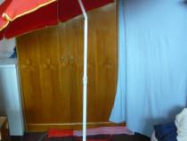 Umbrelă,umbrele grădină,pescuit,180cm,husă,înclinare NOI