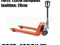 Inchiriez / Inchiriere Transpalet Manual Europalet Oradea