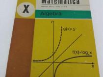 Matematică* algebră /manual pentru clasa a x-a/1995