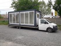 Tractări/transport auto, containere, casute lemn, piscine