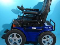 Carucior electric albastru G40 - 6 km/h