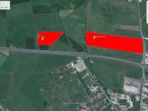 Teren agricol,50000mp zonaVeterani-Hornbach langa autostrada