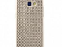 Husa Telefon Plastic Samsung Galaxy J4+ 2018 j415 Mesh Gold