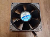 Ventilator/Cooler Fan din ALUMINIU 80 x 80 x 25 mm DC 12V