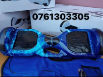 Hoverboard 1000w bluetooth telecomanda cadou geanta-lumini