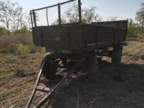 Remorca 5 tone agricola basculare pe 2 parti u650 diac