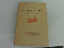 Carte veche george oprescu roumanian art 1935