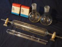 Lamele microscop, recipiente sticla pentru laborator, chimie