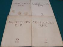 Arhitectura r.p.r / 1956/ nr. 8,9,10,11
