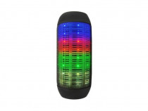 Boxa Portabila Bluetooth Stereo Cu LED-Uri Multicolore