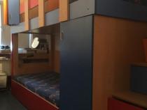 Mobila camera copii - pat etajat