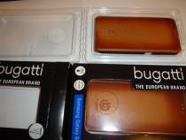 Husa Bugatti handmade din piele pentru telefon Samsung S6