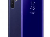 Samsung NOTE 9 10 10 Plus - Husa Carte Flip Case Clear View