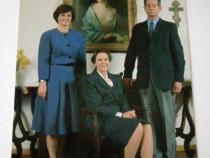 Fotografie Regele Mihai I, Regina Ana si Principesa Margaret
